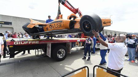 Děsivá nehoda Fernanda Alonsa: Naboural v rychlosti přes 350 km/h! Podívejte sesami