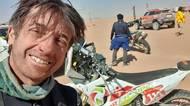 Letošní Dakar má první oběť. Francouzského motorkáře nezachránila ani airbagová vesta, na jejímž vývoji se podíleli Češi